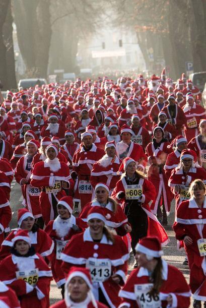 Se estima que en las calles de Berlín aproximadamente 800 personas corri...