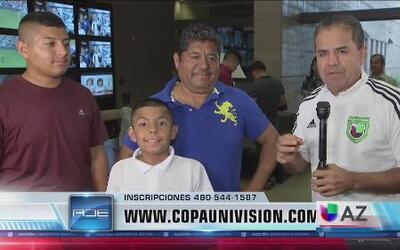 Más equipos se inscriben en Copa Univisión