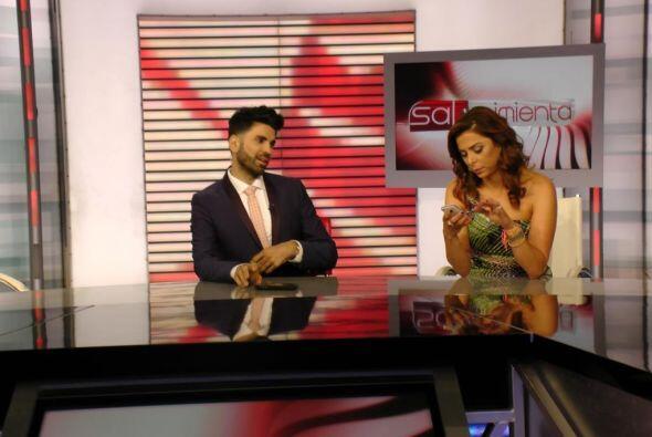 Jomari Goyso también nos acompañó en el show para dar su particular punt...