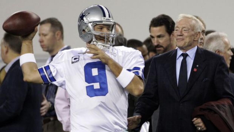 El dueño de los Cowboys confía en su quarterback (AP-NFL).