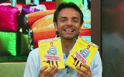 Eugenio Derbéz presentó 'Instructions Not Included' en DVD