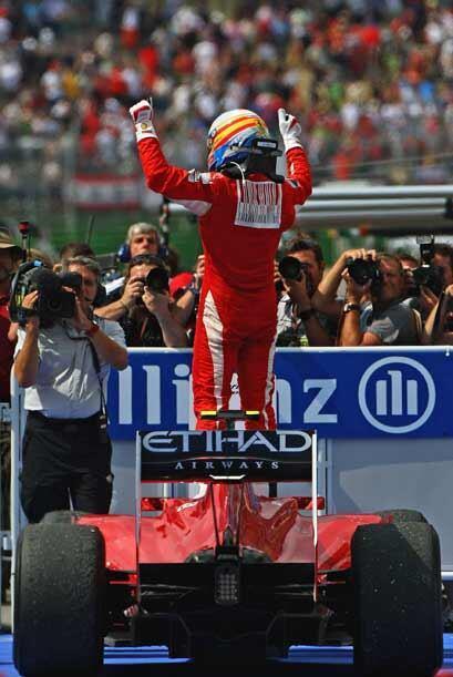 El piloto español de la Ferrari no ganaba desde el 14 de marzo cu...