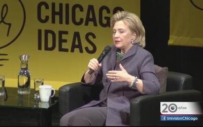 Para Hillary Clinton la reforma migratoria es muy importante