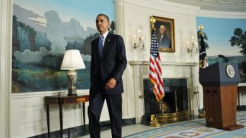 Obama pidió a los estadounidenses mantener la presión sobre el Congreso...