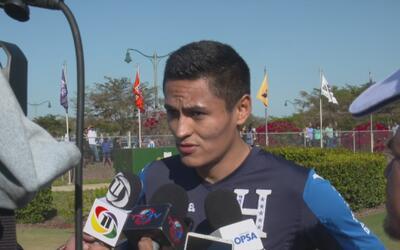 """Andy Najar a su regreso a la selección de Honduras: """"Venimos con todo y..."""