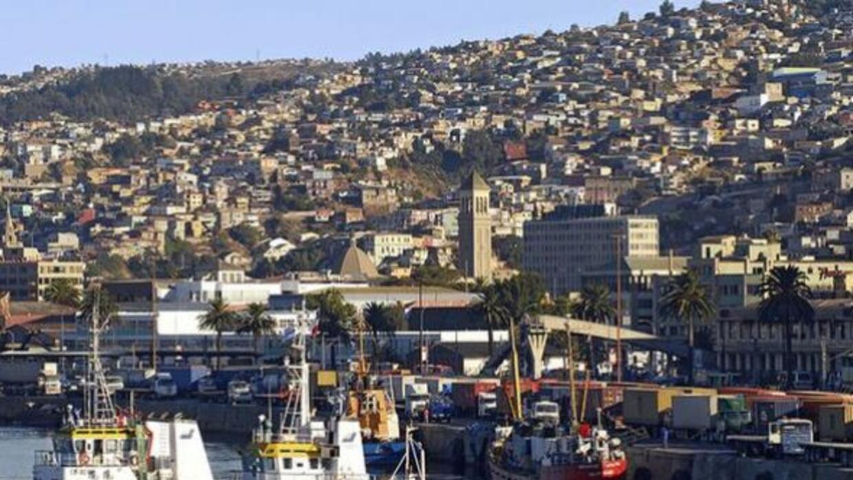 Puerto de Valparaíso, Chile. Foto: ©Imago