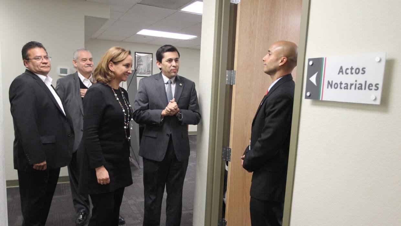 Canciller mexicana visita Tucson para apertura de nuevo consulado FOTO%2...