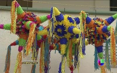 La ciudad donde nació la tradicional piñata navideña