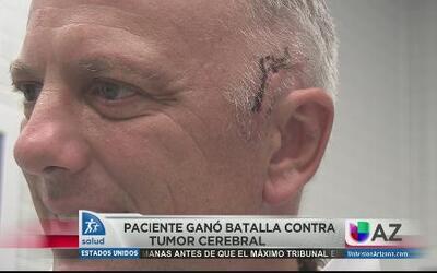 Exitosa batalla contra el tumor cerebral