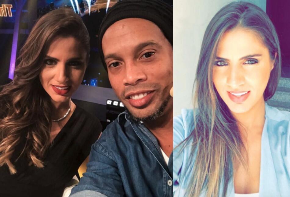 Nathalie Mamo, la amiga que Ronaldinho presentó en sus redes sociales Ro...