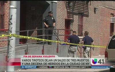 Violento fin de semana, al menos 23 heridos