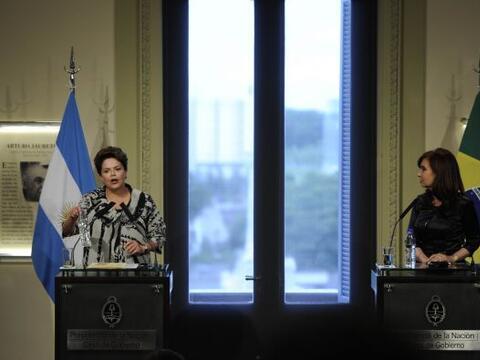 La Casa de Gobierno de Argentina abrió sus puertas para darle la...