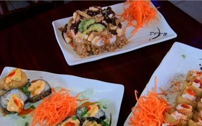 Descubrimos un lugar en Los Angeles, donde hasta el sushi es mexicano