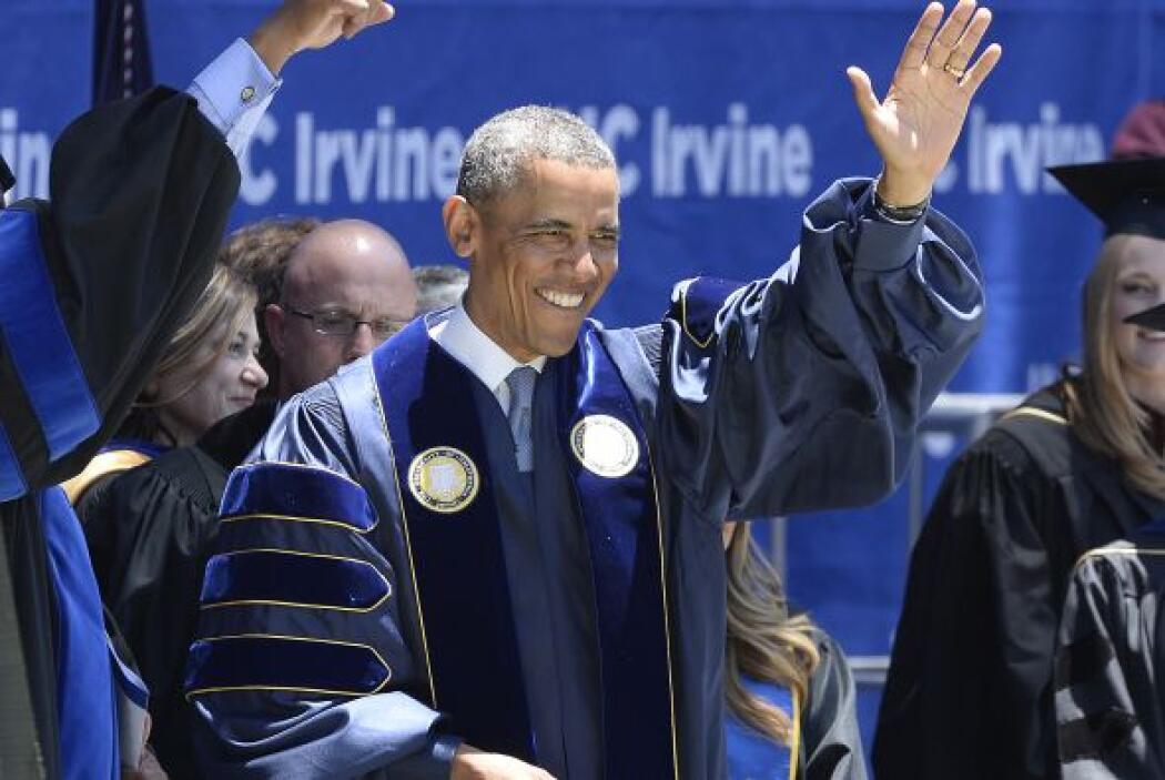 Y con el discurso que dio.