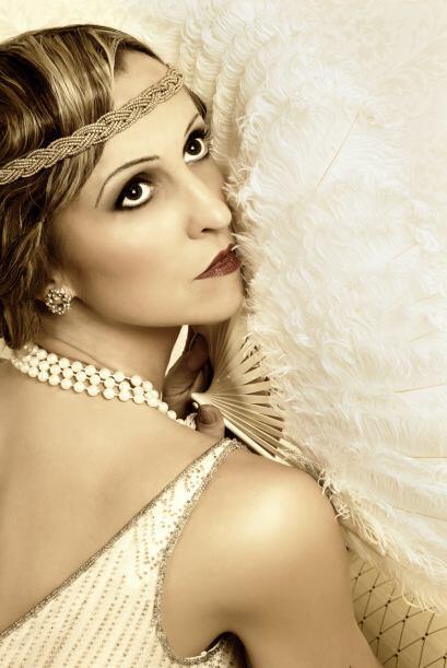Carey Mulligan en The Great Gatsby. Viste la noche de Halloween con el g...