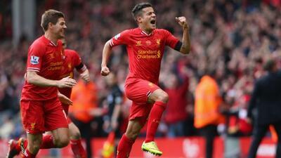 El brasileño Coutinho salvó el triunfo para los 'Reds', luego de que los...