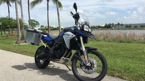 Conoce a la BMW F800GS Adventure 2016, una motocicleta lista para cualqu...