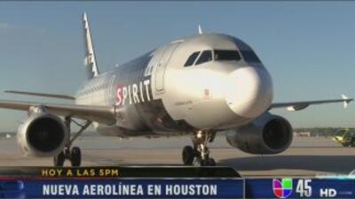 Spirit comenzará a ofrecer vuelos directos y conexiones desde Houston, a...