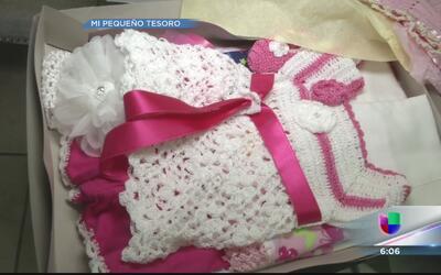Milly Méndez agradece todos los regalitos para su bebé
