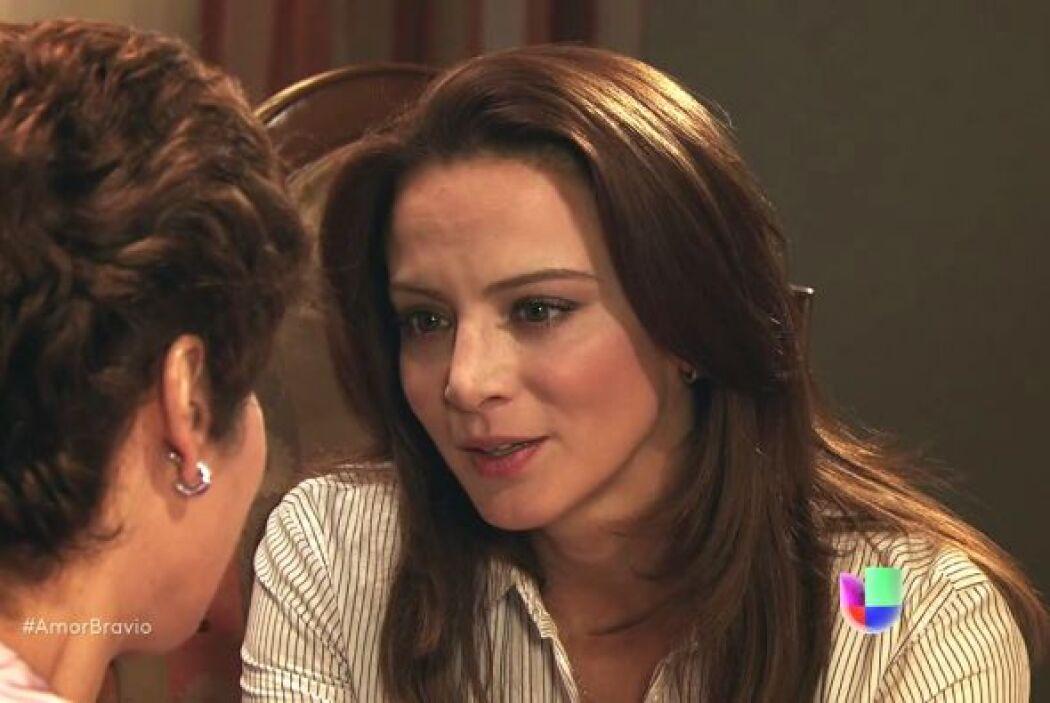 La relación entre Camila y su mamá se ha visto muy debilitada desde la m...