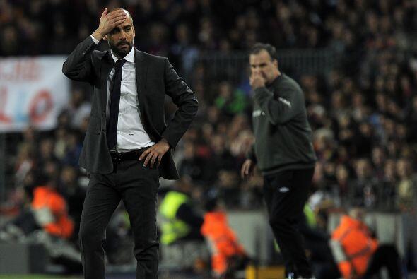 Guardiola y Bielsa dieron un espectáculo aparte fuera de la canch...