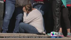 Dolor y consternación por tragedia en escuela de Glendale