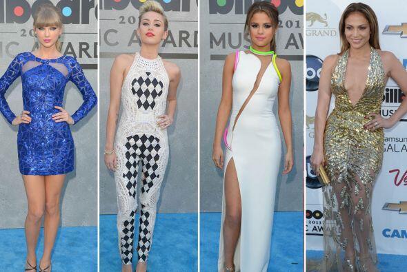 Las famosas mostraron algunas de las tendencias que seguramente muchas d...