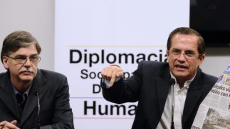 El vicecanciller ecuatoriano Kintto Lucas comentó que Ecuador y EU está...