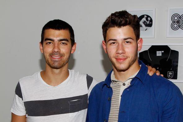 Joe y Nick Jonas.Mira aquí lo último en chismes.