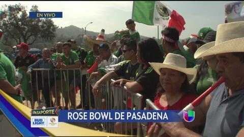 La afición mexicana apoya con todo a su selección