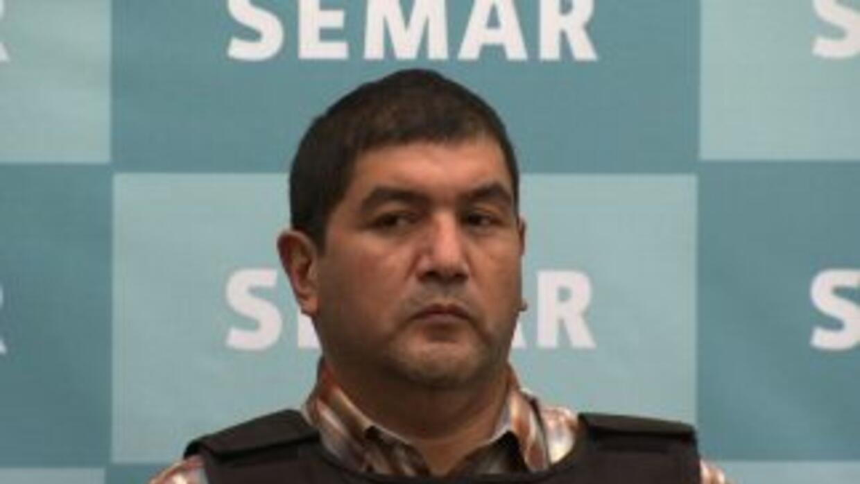 Policía mexicana presenta a El Talibán