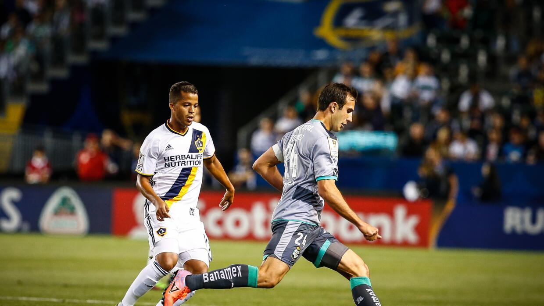 LA Galaxy y Santos definirán todo en el juego de vuelta.
