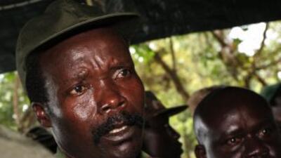 El rebelde ugandés Joseph Konyes buscado por la corte penal internacional.
