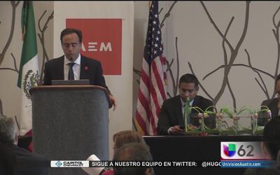 Empresarios buscan fortalecer la relación comercial entre México y Estad...