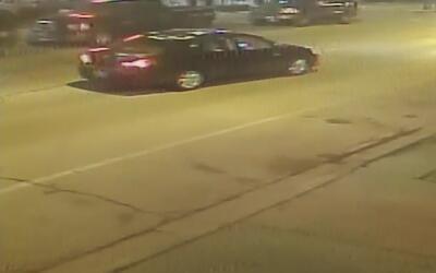 Revelan imágenes de tiroteo entre de dos hombres y un policía en Albany...
