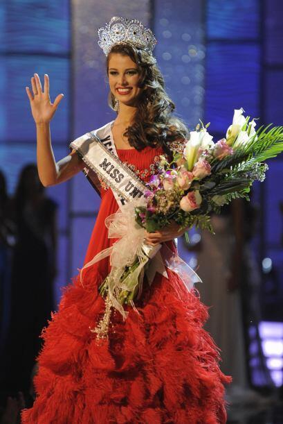 La venezolana Stefanía Fernández fue la ganadora en 2009. Ha sido la úni...
