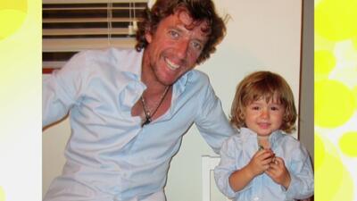 Colate está feliz por su reencuentro con su hijo Nico