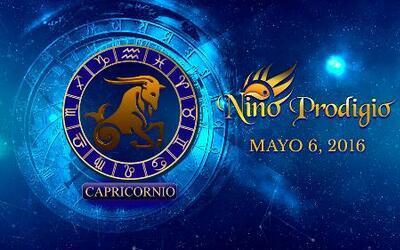 Niño Prodigio - Capricornio 6 de mayo, 2016