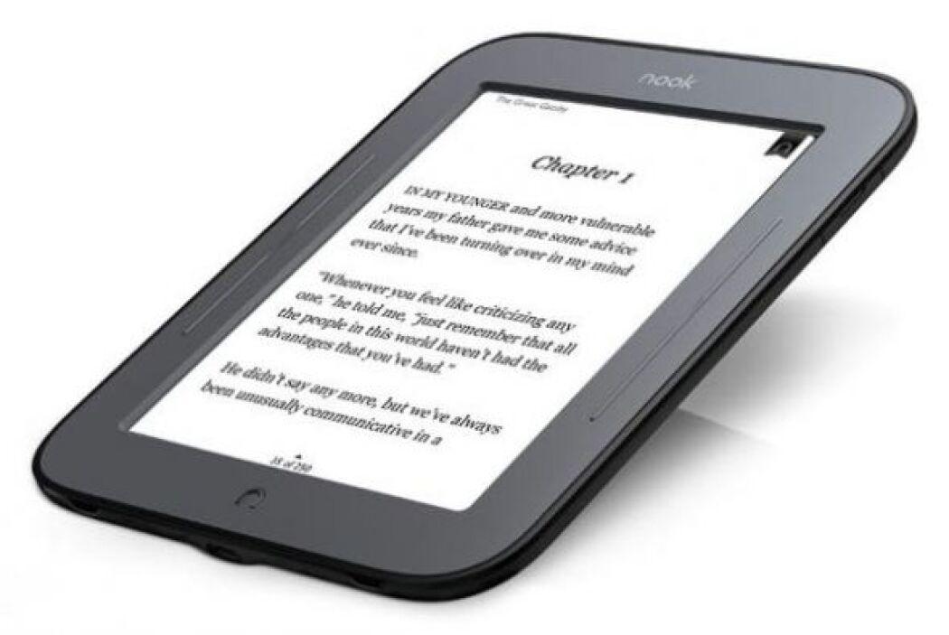 NOOK Simple Touch: ideal por la nitidez de su pantalla que te permite le...