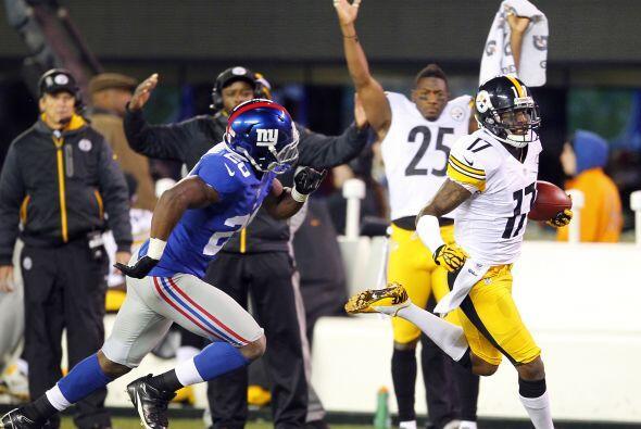 Los Steelers lograron ganar el partido con un brillante último cuarto a...