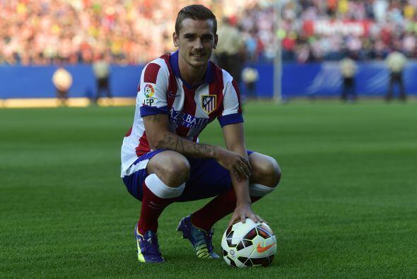 El francés Antoine Griesmann llega al Atlético buscando su...