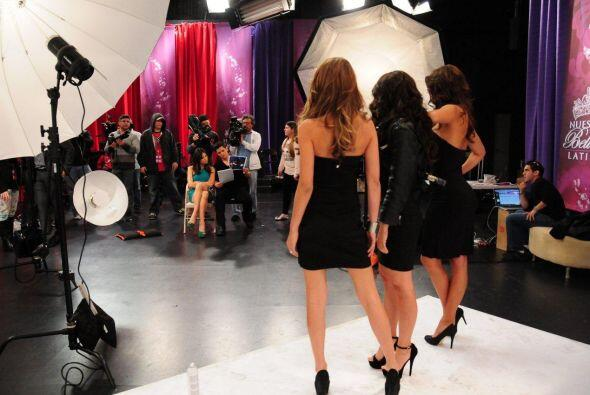 Alejandro Chabán y Alejandra Espinoza trabajaron con las chicas para rec...