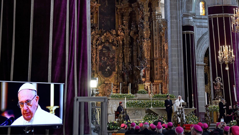 Papa Francisco México, Catedral