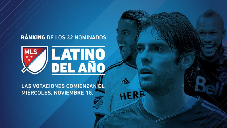 Ránking de Latino del Año 2015 de FutbolMLS.com