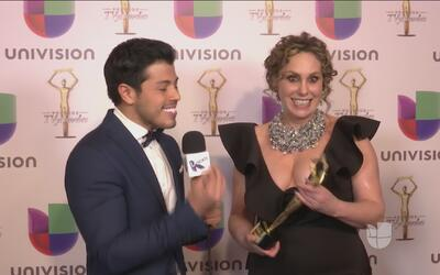 Rafa Serdán le pronosticó a Azela Robinson que ganaría el premio Tv y No...