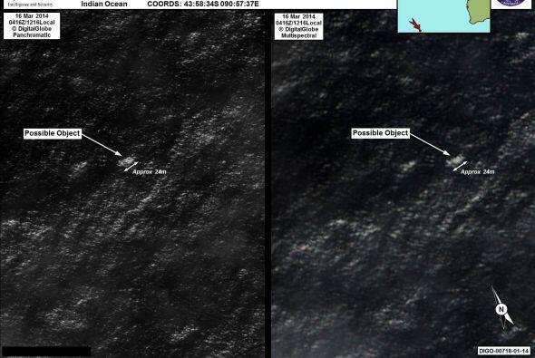 Uno de los objetos detectados por satélite tiene 24 metros (casi 80 pies...