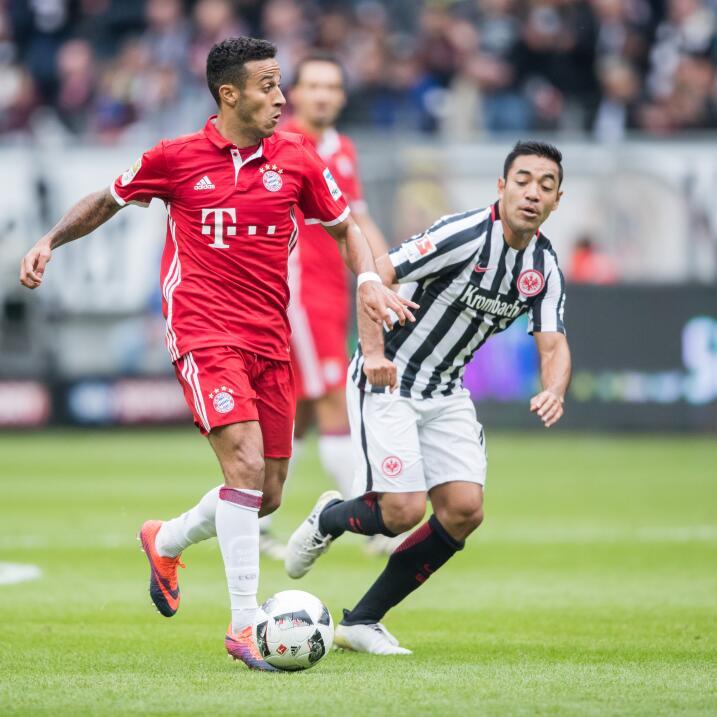 Marco Fabián fue elegido el MVP de la fecha siete de la Bundesliga Getty...