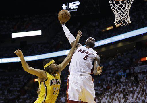 El Heat recibió  Pacer en el juego seis de la final de la Confere...