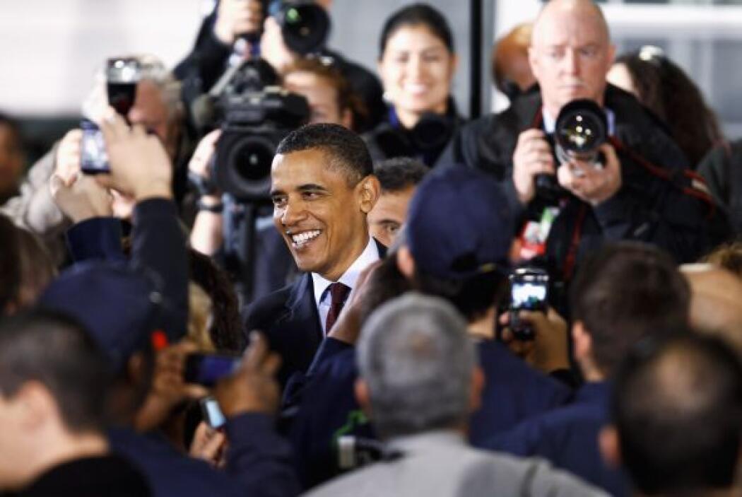 Sus críticos apuntan a que es un presidente que no repara en gastos a la...