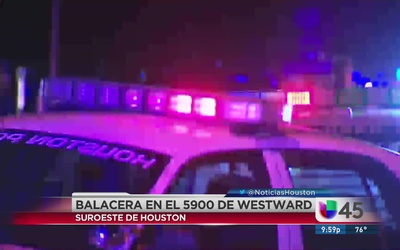 Balacera al suroeste de Houston